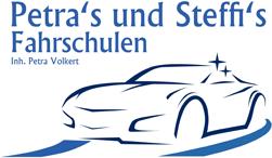 Petra's und Steffi's Fahrschulen - Logo